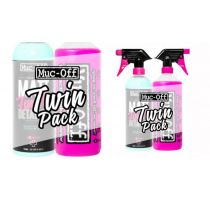 Muc-Off Bike Cleaner + Matt Finish Detailer duo pack