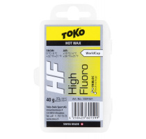 Toko HF Hot Wax 40g yellow 0/-6°C